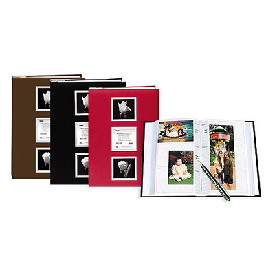 Silver Frame Photo Album (Assorted Colors) Image 0