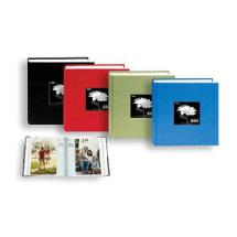 Pioneer 100 Pocket Fabric Frame Cover Photo Album (Assorted Colors)