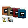 4x6 Silk Frame Bi-Directional Photo Album (Assorted Colors)