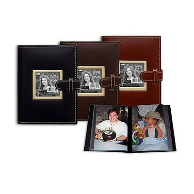 4x6 Picture Frame Cover Photo Album (Assorted Colors) Image 0