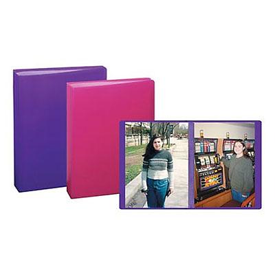 Pioneer 4x6 Mini Poly Photo Album Assorted Colors Ip60