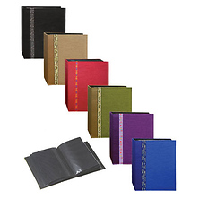 4x6 100-Pocket Tone Fabric Photo Album (Assorted Colors) Image 0