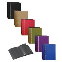 Pioneer 4x6 100-Pocket Tone Fabric Photo Album (Assorted Colors)