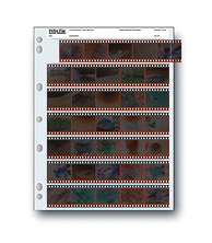 35mm Negative Pages (Holds 7 Strips 5 Frames) - 25 Image 0