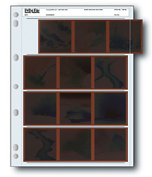 Print File 120-4B 120 Size Negative Pages (Pack of 100)