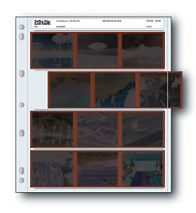 Print File 120-4UB 120 Size Negative Page (Package of 100)