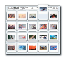 Print File 2x2-20H Slide Pages (Pack of 100)