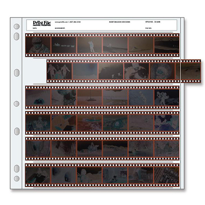 35-6HB 35mm Negative Pages (Package of 100) Image 0