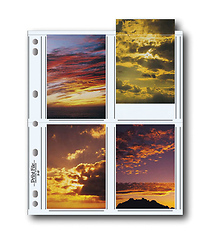 Print File 35-8P Photo Pages (100 Pack)