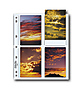 35-8P Photo Pages (25 Pack)