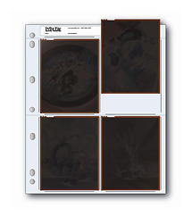 Print File 45-4B Negative Page (Pack of 25)
