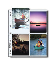 Print File 45-8P Photo Pages (25 Pack)