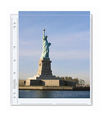 Print File 811-2P 8.5x11 in. Photo Pages (25 pack)