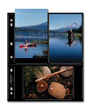 46-6S Photo Page - Black (25 pack) Image 0