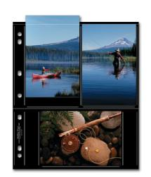 Print File 46-6S Photo Page - Black (25 pack)