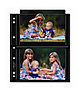 57-4S Photo Page - Black (25 pack)