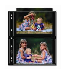 Print File 57-4S Photo Page - Black (25 pack)