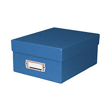 PH46BLU Print File Blue photo storage box Image 0