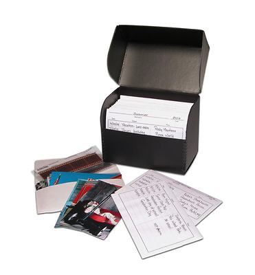 PH-FLIPBOX Flip-Top Photo Box - Black Image 0