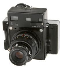 Mamiya Press Rangefinder Camera With 127MM F/4.7 Lens & Polaroid Back (Used)