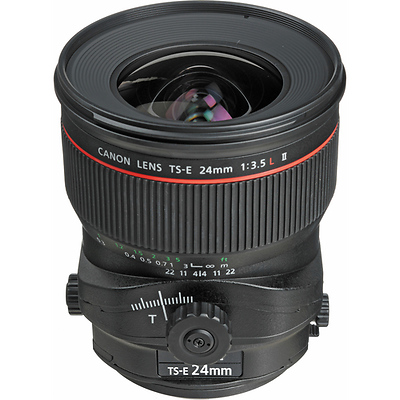 TS-E 24mm f/3.5L II Tilt-Shift Manual Focus Lens for EOS Cameras Image 0