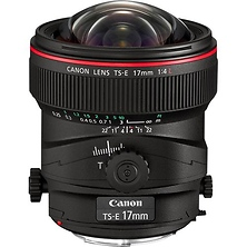 Wide Tilt/Shift TS-E 17mm f/4L Manual Focus Lens for EOS Image 0