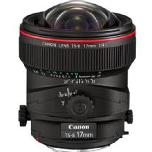 Canon Wide Tilt/Shift TS-E 17mm f/4L Manual Focus Lens for EOS