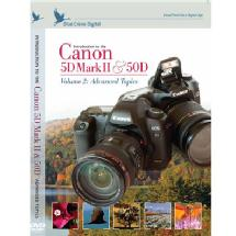 Blue Crane Digital Introduction to the Canon EOS 5D Mark II & 50D Training DVD - Volume 2: Advanced Topics