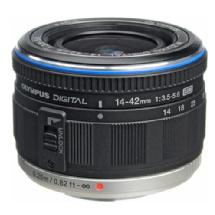 Olympus Zuiko 14-42mm f/3.5-5.6 ED Digital Lens (Black)