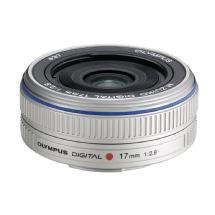 Olympus M.Zuiko Digital 17mm f/2.8 Lens for Micro Four Thirds Format Cameras