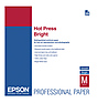 Hot Press Bright Smooth Matte Paper, 17 x 22in - 25 Sheets