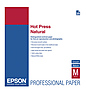 Hot Press Natural Smooth Matte Paper, 8.5 x 11in. (25 Sheets)