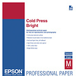 Cold Press Bright Textured Matte Paper, 17 x 22in. (25 Sheets)