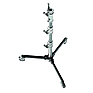 Roller Stand 12 with Folding Base (Chrome-plated/Black, 3.9 ft.)
