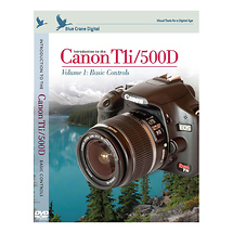 Blue Crane Digital Introduction to the Canon EOS Digital Rebel T1i Training DVD (Volume 1 Basic Controls)