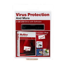McAfee 2GB USB Drive with Software VirusScan Plus 2009 Image 0