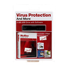McAfee 2GB USB Drive with Software VirusScan Plus 2009