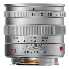 50mm f/1.4 M Aspherical Manual Focus Lens (Silver) Image 0