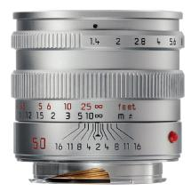 Leica 50mm f/1.4 M Aspherical Manual Focus Lens (Silver)