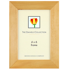 Angled Molding Picture Frame 4 x 6 in. Natural Blonde Image 0
