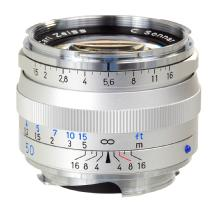 Zeiss Ikon 50mm f/1.5 C Sonnar T* ZM Series MF Lens - M-Mount (Silver)