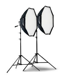 Photoflex Starlite 3 Ft. OctoDome Double Kit with 1/4 & 1/2 Stop Fabrics