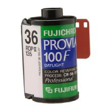 Fujifilm RDP III Provia 100F 135-36 Color Slide Film - Single Roll