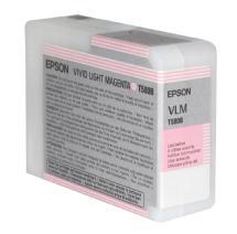 Epson Vivid Light Magenta K3 UltraChrome 80ml for Stylus Pro 3880 Printer (T580B00)