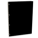 Vista Screwpost 11x14 in. Presentation Book Onyx Acrylic Finish