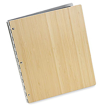 Pina Zangaro Bamboo Screwpost Portfolio Cover Only 14 x 11 in.