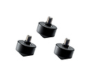 GS5030 Rubber Feet for Series 3, 4, and 5 Tripods (Set of 3)