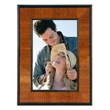 8 x 10 Beautiful Burlwood Photo Frame Image 0