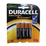 AAA 1.5V Alkaline Coppertop Batteries (4 Pack)