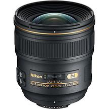 Nikon AF-S Nikkor 24mm f/1.4G ED Wide Angle Lens